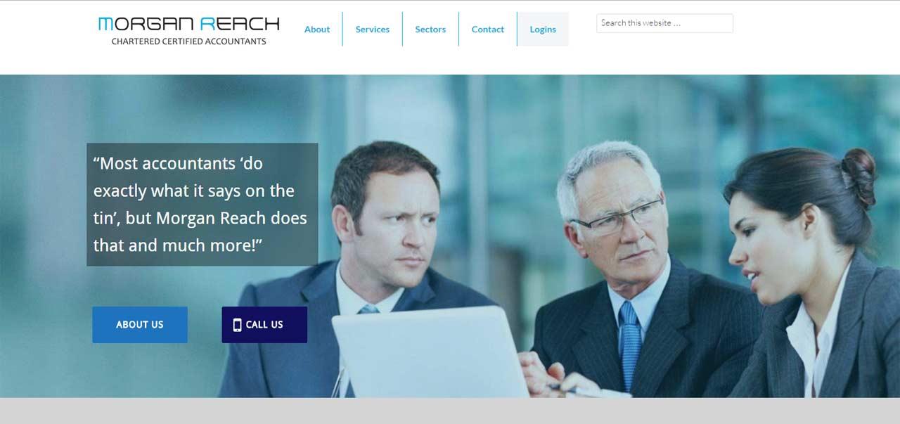 Morgan Reach Website Home Page